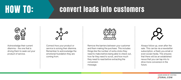 infographic-how-to-covert-leads-into-customers-for-cro